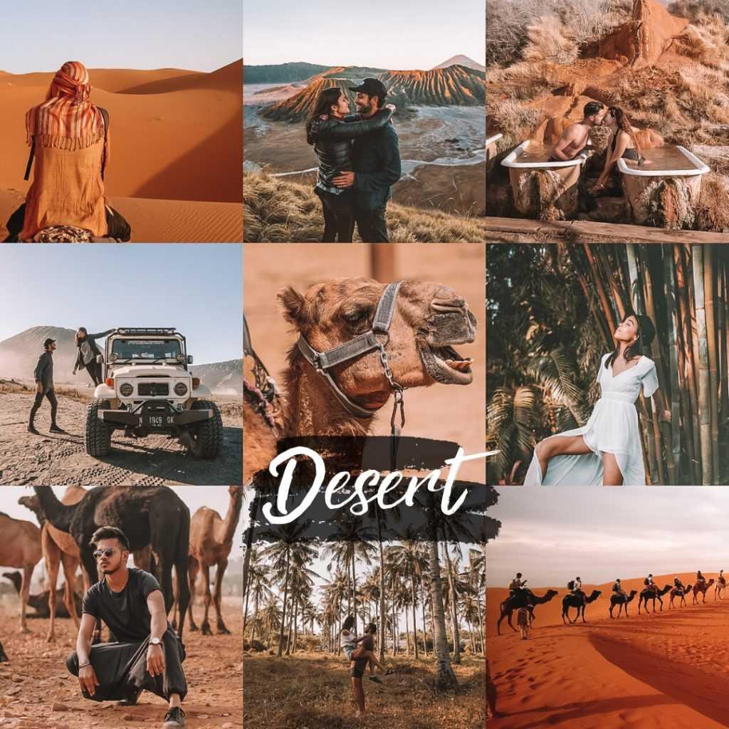 preset desert - pustynny filtr do lightroom