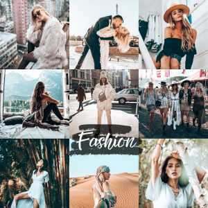 preset fashion - Stylowy filtr do lightroom