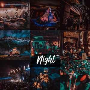 preset night - nocny filtr do lightroom
