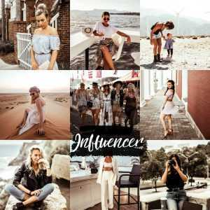 preset do lightroom influencer