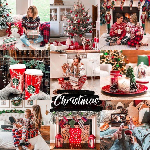 preset świąteczny