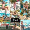 Preset wakacyjny podróżniczy travel